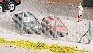 Ограда за бетонов възел - Аксесоар за сглобяем модел -
