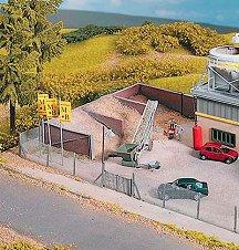 Депа за пясък за бетонов възел - Аксесоар за сглобяем модел -