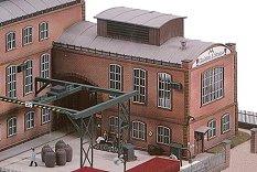 Допълнителна сграда към фабрика за производство на стъкло - E. Strauss - Сглобяем модел -