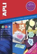Самозалепващи листа за декорация - Комплект от 20 листа с формат А4 -