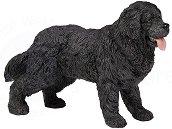 Куче - Нюфландер - Фигура от серията Животните във фермата - фигура