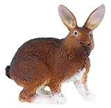 Кафяв заек - Фигура от серията Животните във фермата - фигура