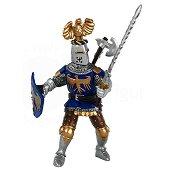 Рицарят в синьо с шлем - Фигура от серията Рицари -