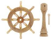Щурвал - 4 cm - Резервна част за корабни модели и макети -