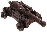 Оръдие с метален лафет - Резервни части за корабни модели и макети -