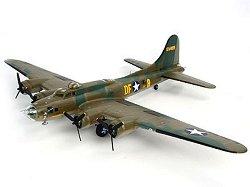 Бомбардировач - B-17F Memphis Belle - Сглобяем авиомодел -