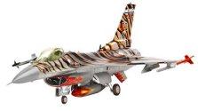 """Военен изтребител - Lockheed Martin F-16C """"Tiger Meet"""" - Сглобяем авиомодел -"""