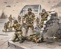 Войници - Парашутисти от британската армия - Комплект фигури -