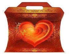 Сгъваема кутия за подарък - играчка