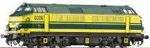 Дизелов локомотив - Модел 80 - ЖП модел - макет