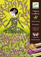 Оцветявай с брокат - Блестящи рокли - Творчески комплект за рисуване - раница