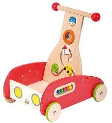 Количка за бутане - Wonder Walker - Дървена играчка -