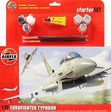 Военен изтребител - Eurofighter Typhoon - макет