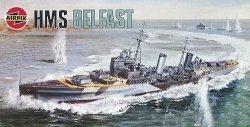 Военен кораб - HMS Belfast - Сглобяем модел -