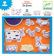 Детски печати - Ферма - играчка