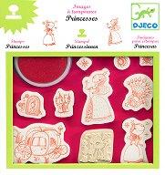 Детски печати - Принцеси - играчка
