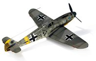 Изтребител - Messerschmitt BF109 G-6 - Сглобяем авиомодел -