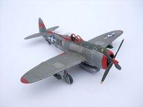 Изтребител - Supermarine Spitfire MkVb - Сглобяем авиомодел - макет