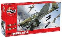 Бомбардировач - Junkers Ju 87-B - Сглобяем авиомодел - макет