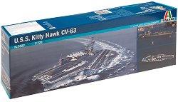 Самолетоносач - U.S.S. Kitty Hawk CV-63 - Сглобяем модел -