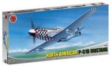 Изтребител - North American Aviation P-51D Mustang - Сглобяем авиомодел -