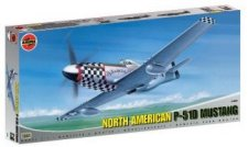 Изтребител - North American Aviation P-51D Mustang - макет