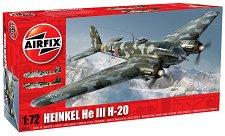 Бомбардировач - Heinkel He III H - 20 - Сглобяем авиомодел -