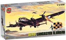 Бомбардировач - Avro Lancaster B.MKI/III - Сглобяем авиомодел -