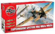 Изтребител - Supermarine Spitfire MkI / MkIa / MkIIa - Сглобяем авиомодел -