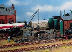 ЖП склад за въглища с кран за товарене - продукт