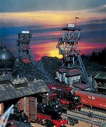 Завод за въглища - Сглобяем модел -