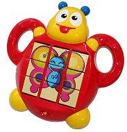 Бръмбар с три пъзела - Музикална играчка - играчка