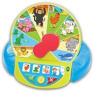 Колелото на животните - Образователна играчка на български и английски език - играчка
