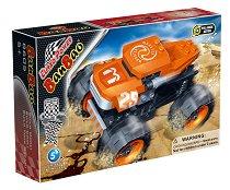Автомобил - Чудовище - Детски конструктор - играчка