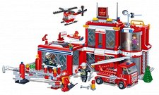 Пожарна - Детски конструктор - играчка