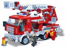Пожарникарски камион - Детски конструктор - играчка
