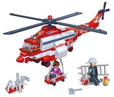 Спасителен хеликоптер - Детски конструктор - играчка