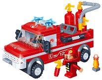 Противопожарен камион - Детски конструктор - творчески комплект