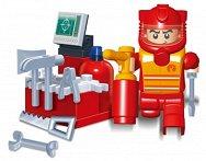 Пожарникар - Детски конструктор - играчка