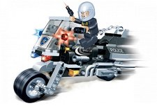Полицейски мотор - Детски конструктор - творчески комплект
