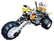 Полицейски мотоциклет - Детски конструктор - играчка