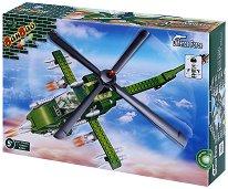 """Военен хеликоптер - Детски конструктор от серията """"BanBao Defence Force"""" -"""