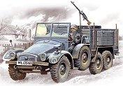 Военен камион - Krupp L2H143 - Сглобяем модел -