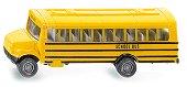 """Училищен автобус - Метална играчка от серията """"Super: Bus & Rail"""" - количка"""