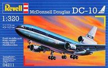 Пътнически самолет - MDD DC-10 - Сглобяем авиомодел -