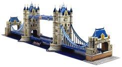 Тауър Бридж, Лондон - 3D пъзел - пъзел