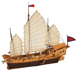 Red Dragon - Сглобяем модел на кораб от дърво -