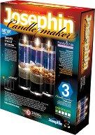 """Създай сам 3 декоративни свещи на морска тема - Комплект 3 - Творчески комплект от серията """"Candlemaker"""" - творчески комплект"""