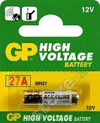 Батерия 12V - Алкална (27A) - 1 брой - батерия