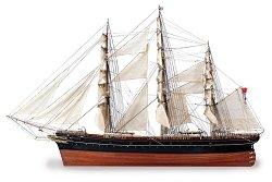 Клипер - Cutty Sark - Сглобяем модел на кораб от дърво - макет